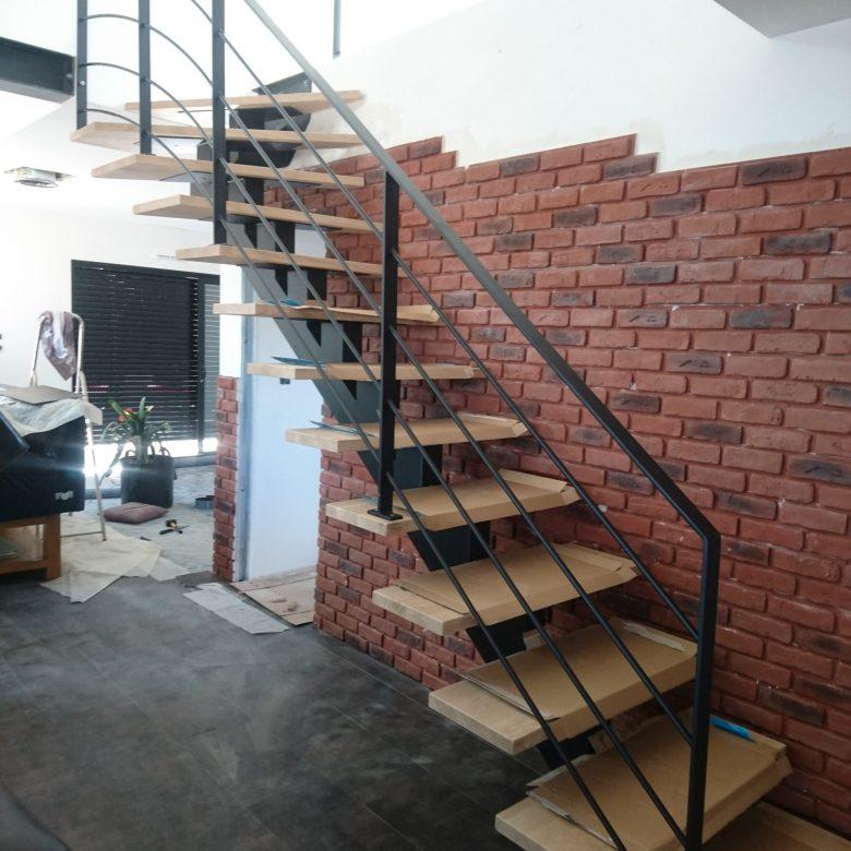 L'atelier des métaux - escalier bois et metal